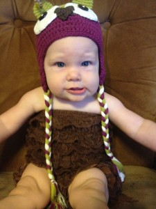 reata, taylor-joelle, design, owl hat, face, baby